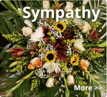 Sympathy and funeral florist